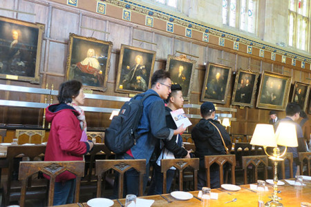 03.visit Christ Church Harry Porter Dining room